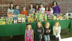 Cover photo for Hungry to Help - Backpack Buddies Food Drive