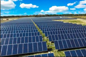 Picture of a Solar Farm