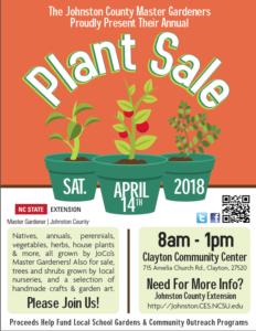 Plant sale announcement