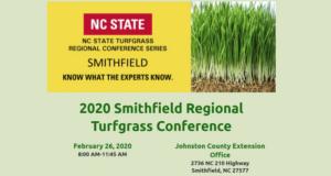 2020 Smithfield Regional Turfgrass Conference