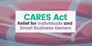 CARES Act, Relief for individuals and small business owners