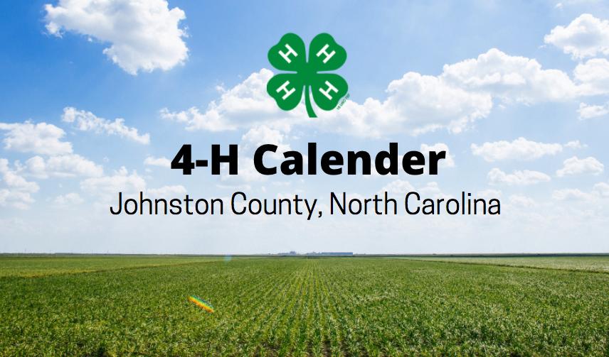4-H Calendar Green field