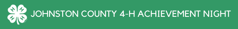 Johnston County 4-H Achievement Night