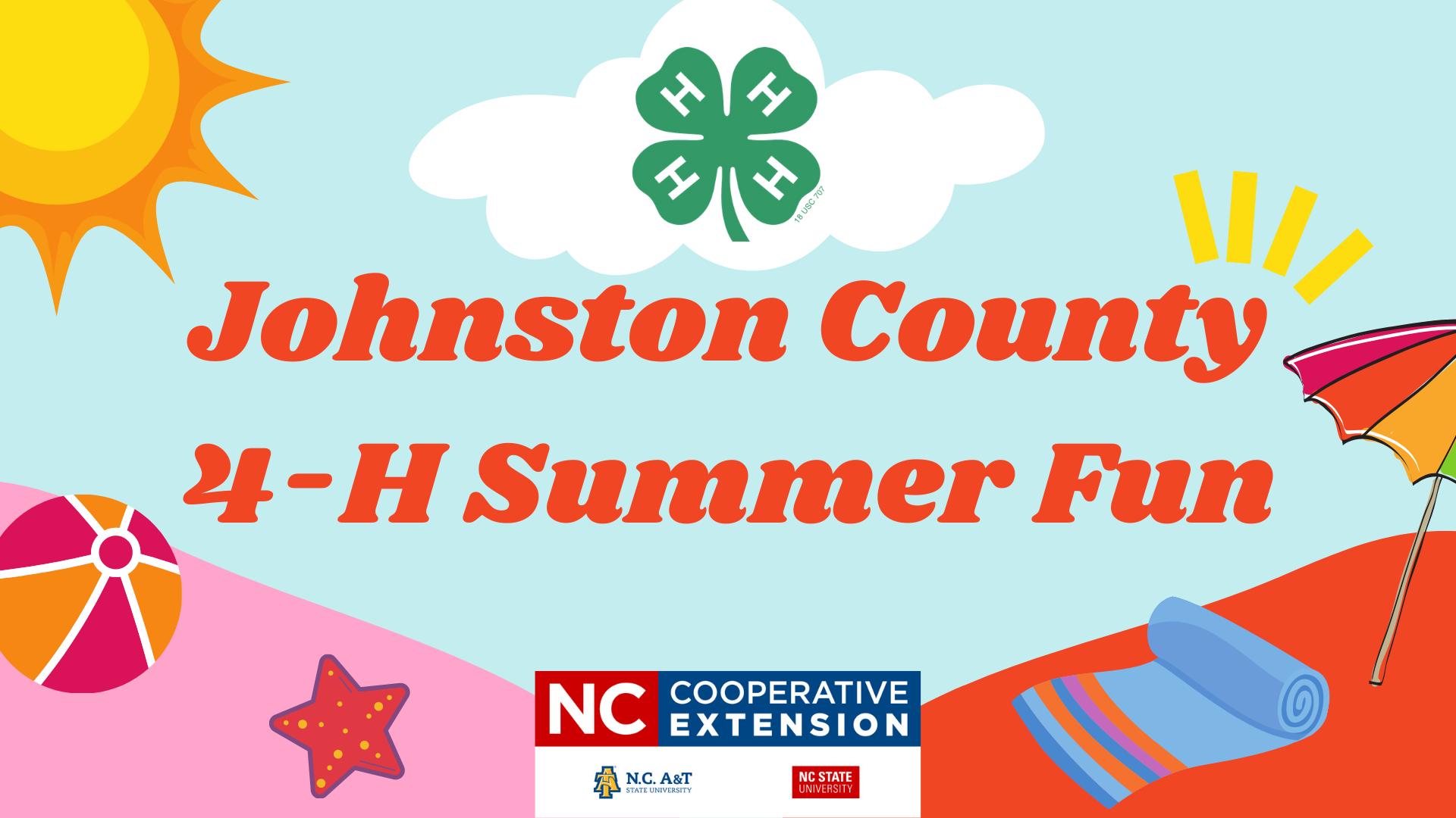 4-H Summer Fun banner
