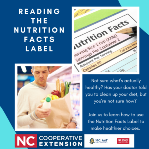 Cover photo for Nutrition Facts Label Reading Workshop
