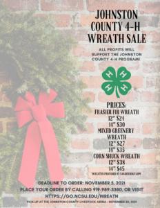 4-H Wreath Sale